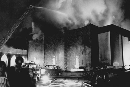 La tragedia del Beverly Hills Supper Club en 1977 (Crédito: The Enquirer / Gerry Wolter / USA Today Network / Sipa USA / Grosby Group))