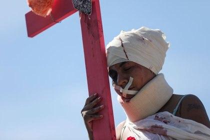 Contrario a las negaciones de AMLO. Tan solo en la Jornada Nacional de Sana Distancia hubo casi 1,500 denuncias por violencia familiar (Foto: Reuters/Luisa Gonzalez)