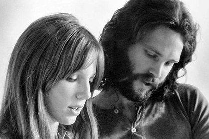 Pamela Courson y Jim Morrison
