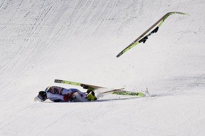 """""""Hacía mucho tiempo que no veía caídas así"""", aseguró el comentarista de la transmisión (Foto: Reuters)"""