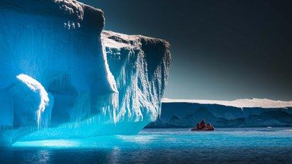 La Antártida es una de las grandes maravillas naturales del mundo. En la foto, el glaciar Lambert