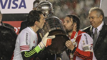 River se consagró campeón en 2015 de la Copa Libertadores al vencer a Tigres en la final (Foto: David Fernández/ EFE)