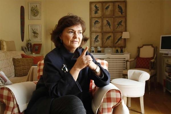 Carmen Calvo es la nueva vicepresidente del Gobierno español y ministra de Igualdad