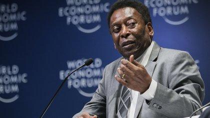 A los 33 años Pelé jugó su última temporada con el Santos