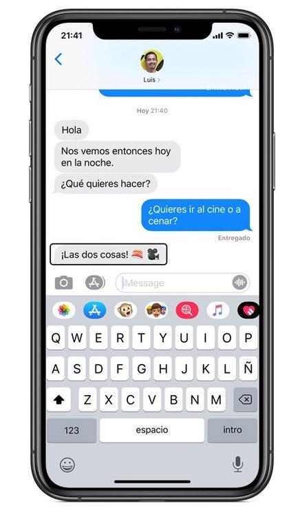 Voice Over está disponible para dispositivos de Apple.