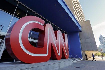 Vista de la entrada del Centro CNN en Atlanta, Georgia (Estados Unidos). EFE/Erik S. Lesser/Archivo