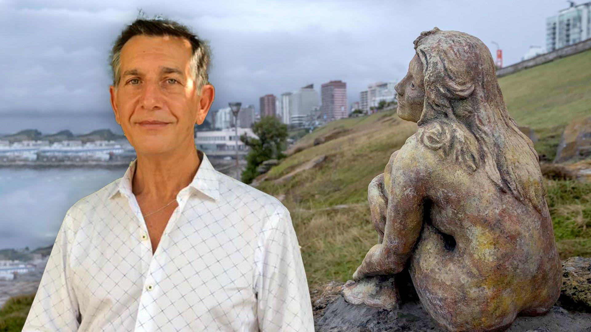 Escultura en Mar del Plata Magrini