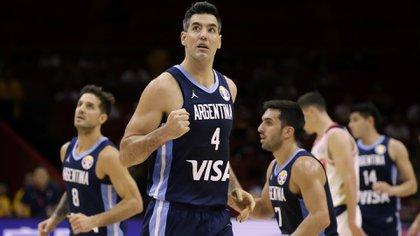 Luis Scola fue una de las figuras de Argentina en el Mundial (Reuters/ Jason Lee)