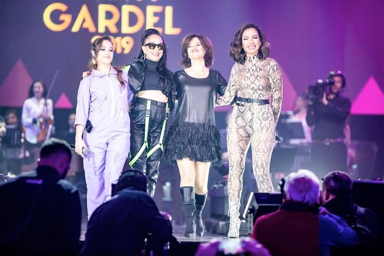Anitta, Ángela Torres, Miss Bolivia y Virginia Innocenti.