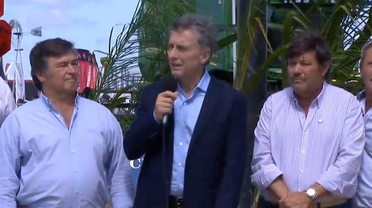 Mauricio Macri habla en Expo Agro 2019