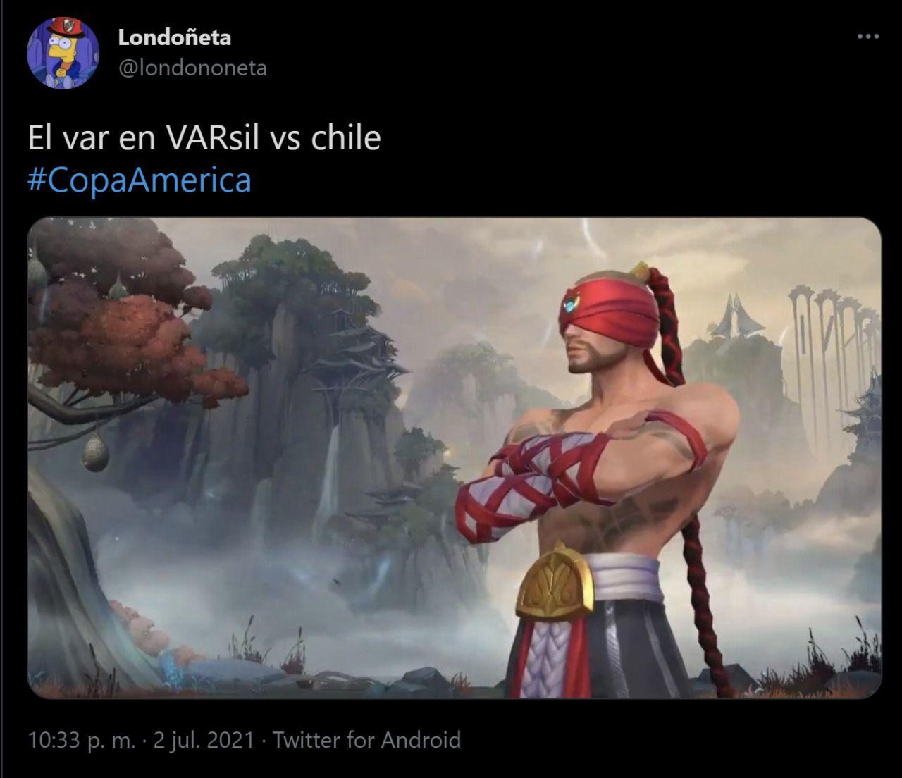 MEMES DE BRASIL Y CHILE