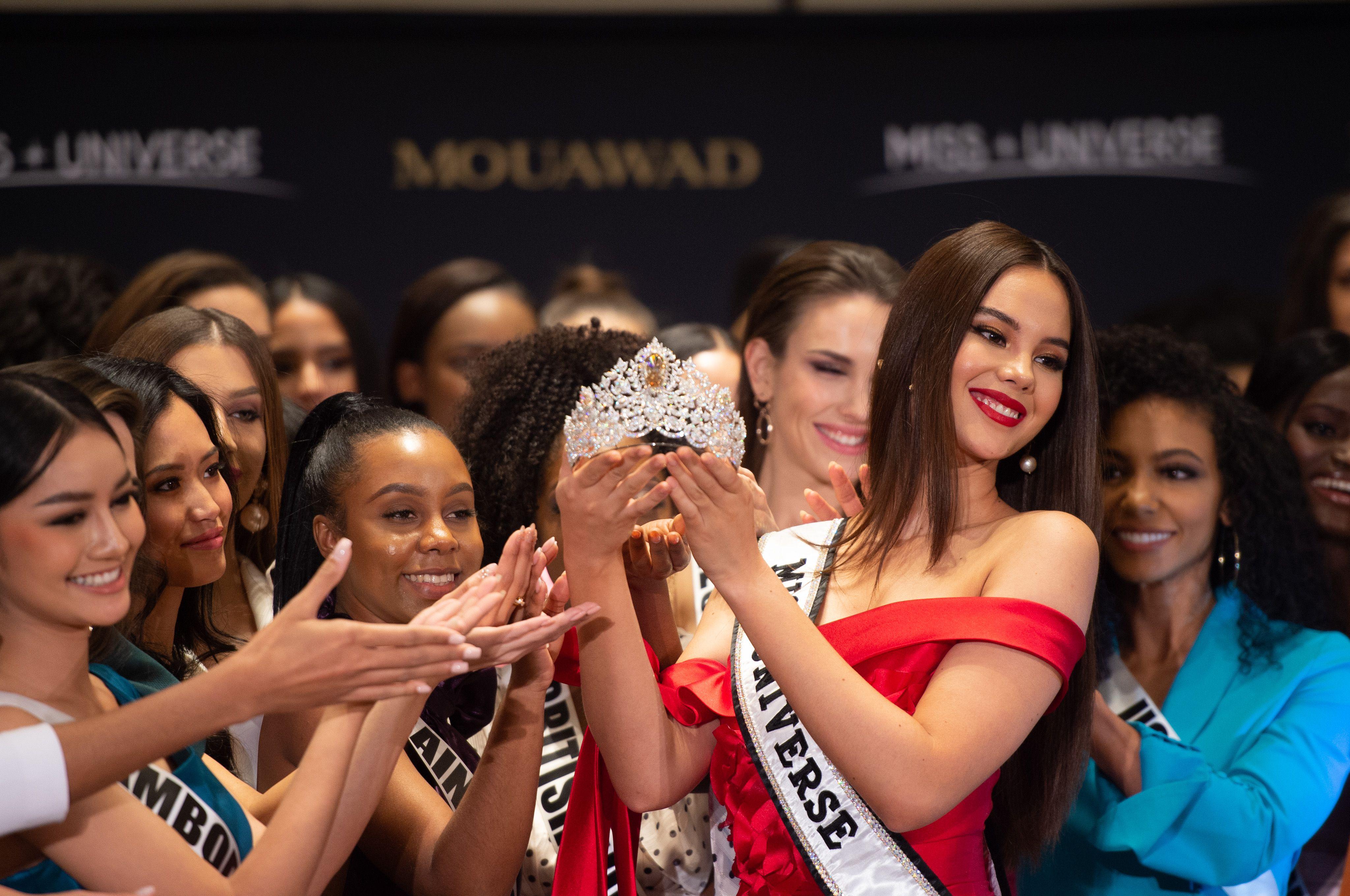 La imponente corona de Miss Universo 2019 (AFP)