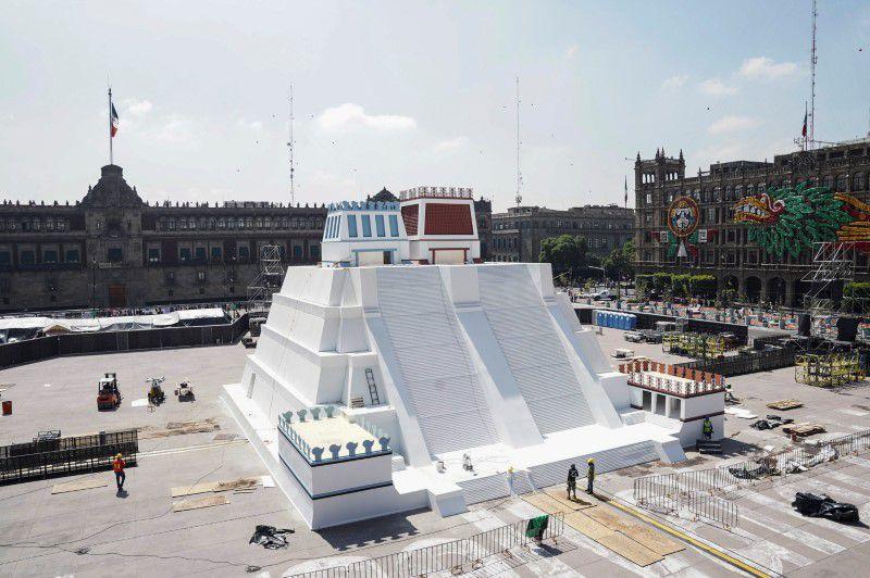 Maqueta Templo Mayor. (Foto: Reuters)