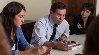 Matías Di Lello, uno de los fiscales del expediente (Claudia Conteris/Ministerio Público Fiscal)