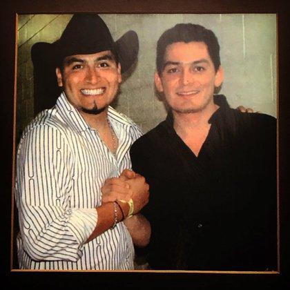 En agosto de 2018, José Manuel Figueroa compartió esta foto en Instagram para recordar a Trigo a 12 años de su muerte. (Foto: @josemanfigueroa/ Instagram)
