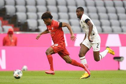 El FC Bayern München derrotó al Eintracht Frankfurt con la obligación de ganar (Reuters)