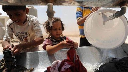 El régimen de Bashar al Assad y los rebeldes también se enfrentan por el control del suministro de agua