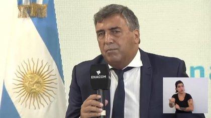 Presidente de Ente Nacional de Comunicaciones (ENACOM), Claudio Ambrosini