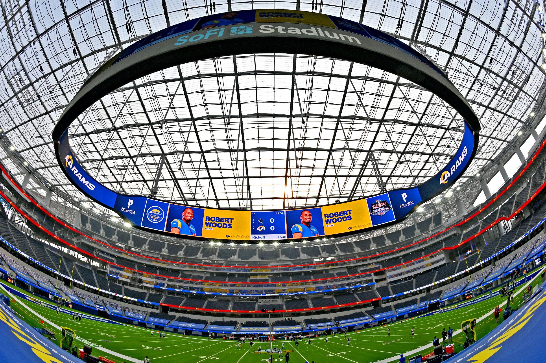 El SoFi Stadium costó unos 5 mil millones de dólares (Jayne Kamin-Oncea-USA TODAY Sports)