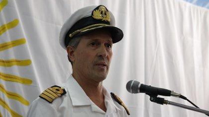 El vocero de la Armada, Enrique Balbi (Foto: María Eugenia Salgado)