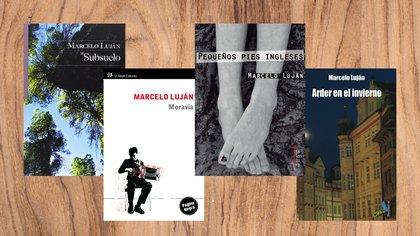 Algunos libros de Marcelo Luján