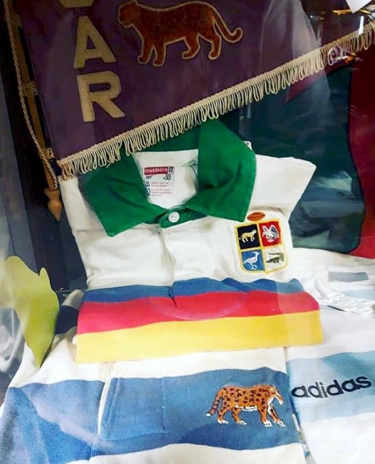 Las camisetas en el museo