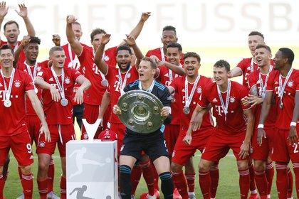Le Bayern Munich a été champion des huit dernières éditions de la Bundesliga (REUTERS)