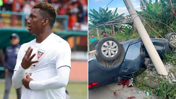 Edison Realpe murió en el accidente