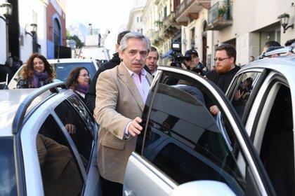 El precandidato presidencial del Frente de Todos afirmó que el precio actual del dólar es bajo (Maximiliano Luna)