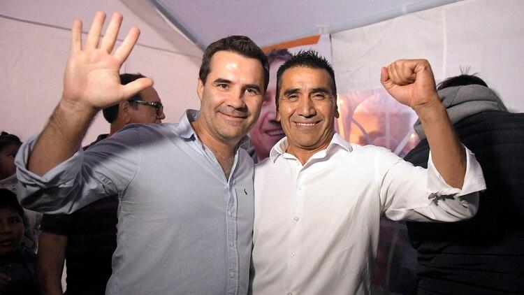 Darío Martínez y Ramón Rioseco. La dupla de Unidad Ciudadana que busca consagrarse este domingo