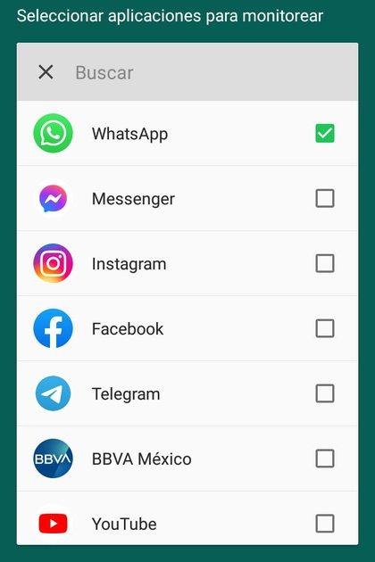 La app monitorizará las notificaciones de nuevos mensajes de WhatsApp (Foto: Captura de pantalla/WAMR)