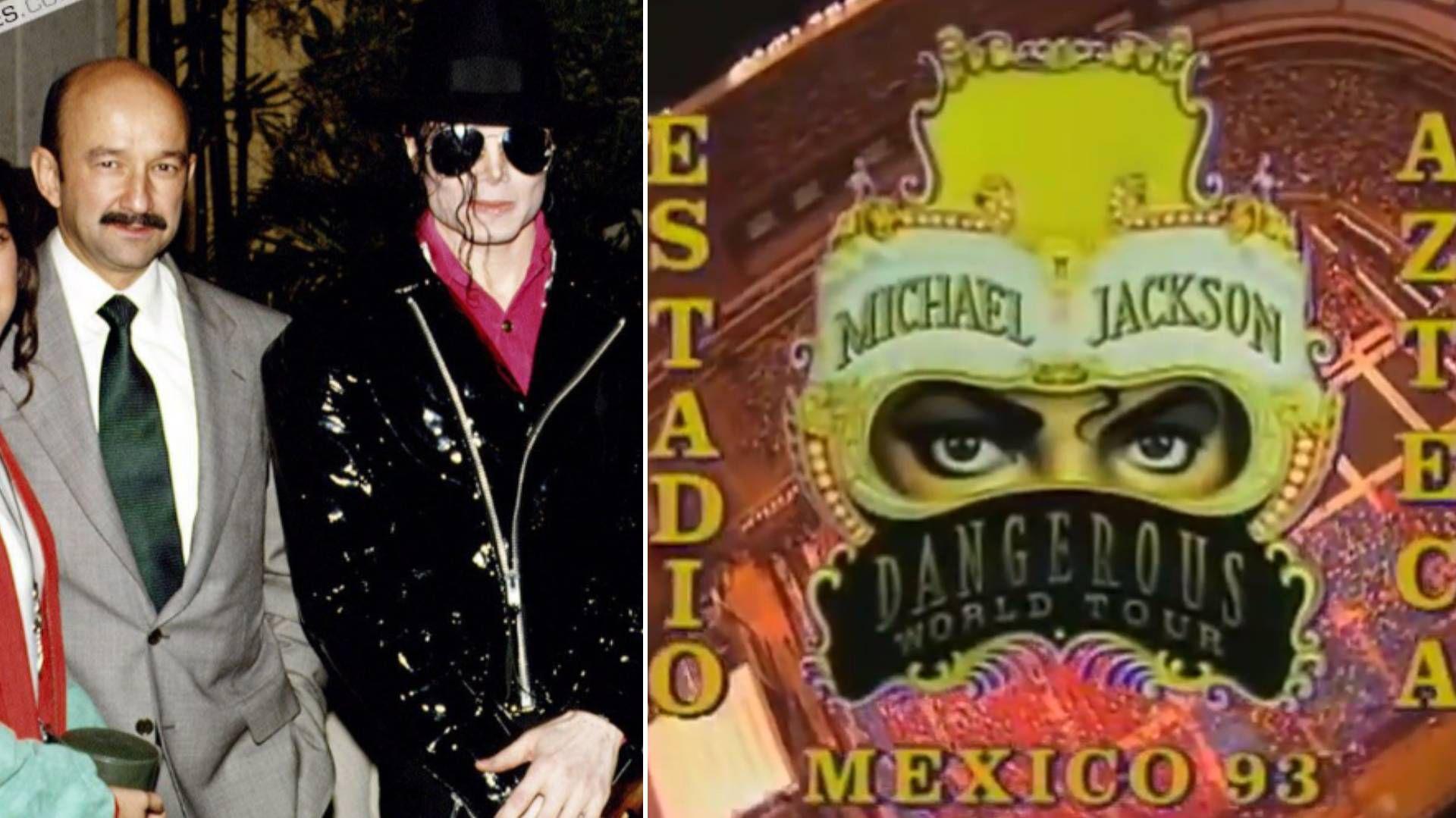 En 1993 Michael Jackson convivió con Carlos Salinas de Gortari, el entonces presidente de México (Foto: YouTube)