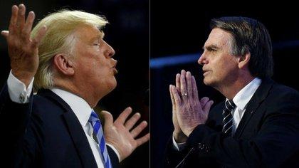 Donald Trump y Jair Bolsonaro, dos líderes con muchos puntos de contacto, pero diferentes