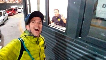 En la frontera con Chile el el paso de la Aduana