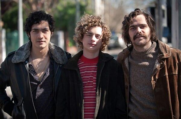 El Chino Darín, Lorenzo Ferro y Peter Lanzani