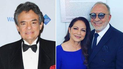 Emilio Estefan estaría detrás del homenaje a José José, y cantaría Gloria Estefan (Foto: Instagram/Especial)