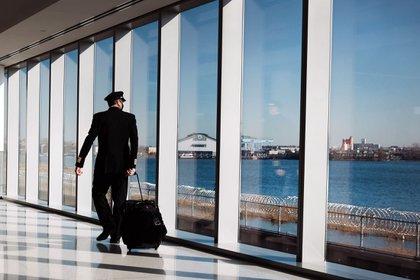 Traveling via New York's LaGuardia Airport in December Photographer: Spencer Platt/Getty Images North America