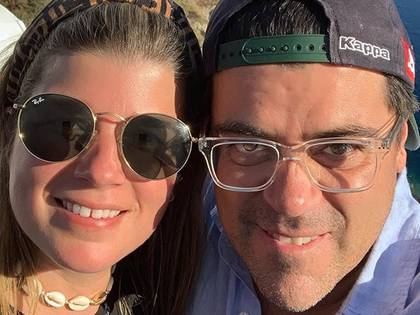 """""""El Burro"""" Van Rankin ya tiene dos hijas con su pareja, Magda (IG: burrovan)"""