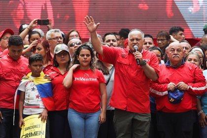 Diosdado Cabello (REUTERS/Fausto Torrealba)