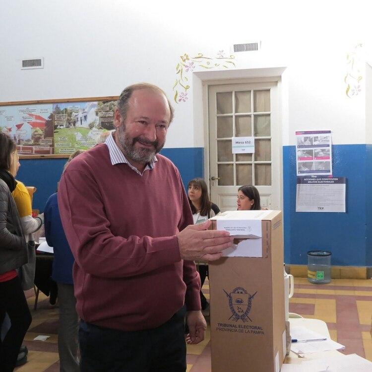 Kroneberger busca lograr un triunfo histórico en La Pampa (Twitter: @Dkroneberger)