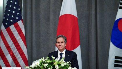 EEUU, Japón y Corea del Sur reafirmaron su compromiso con la desnuclearización del régimen de Kim Jong-un