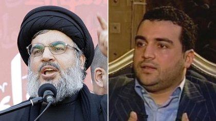 Hassan Nasrallah, y su hijo Jawad