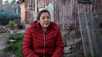 Cristina Castro Alaniz, mamá de Facundo Castro, en su casa de Pedro Luro, al sur de Bahía Blanca