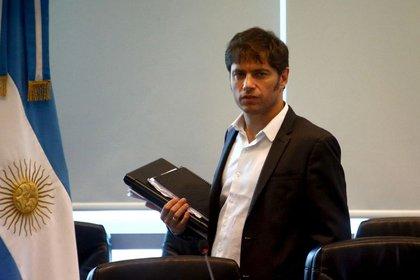 Axel Kicillof, exministro de Economía durante el gobierno de Cristina Fernández y actual gobernador de la provincia de Buenos Aires