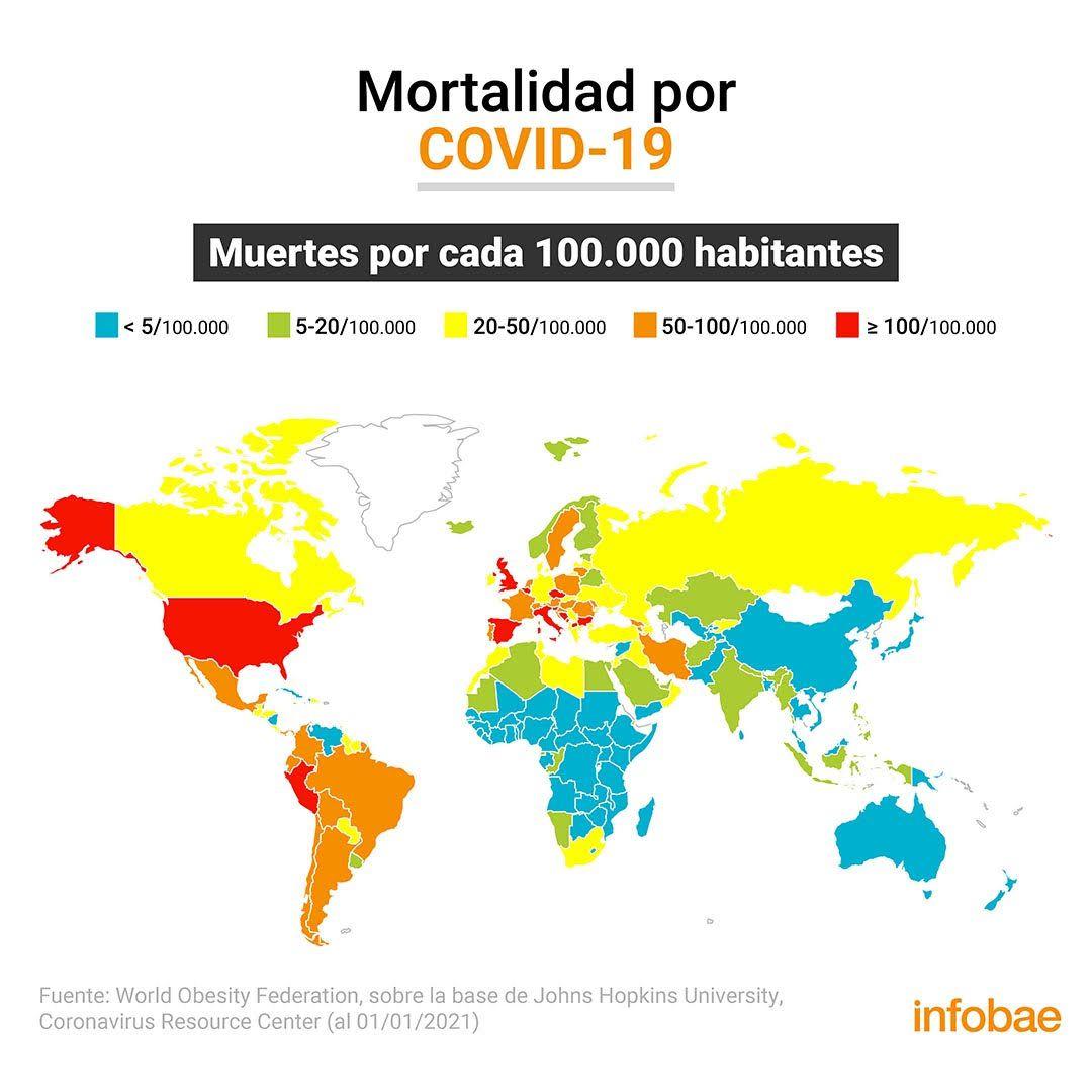 Mapa mortalidad COVID