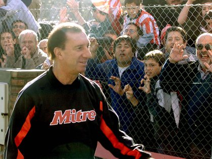 Bilardo conoció a Kiricocho en Estudiantes de La Plata  (NA)