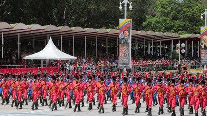 El Ejército venezolano (Reuters)