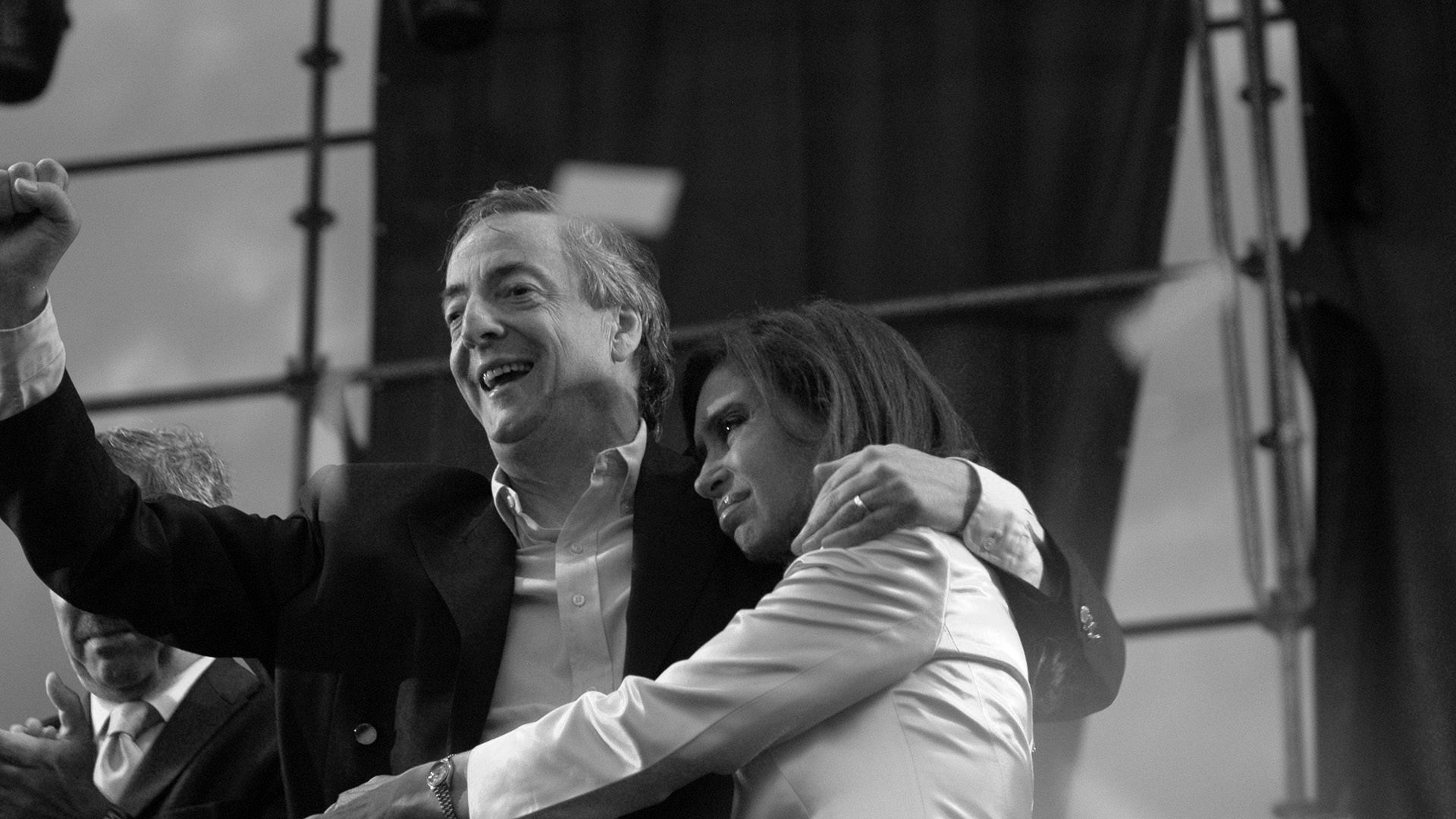 Néstor y Cristina Kirchner (Getty)