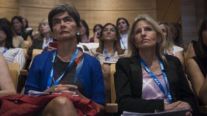 María Eugenia Estensssoro y Cecilia Mosto