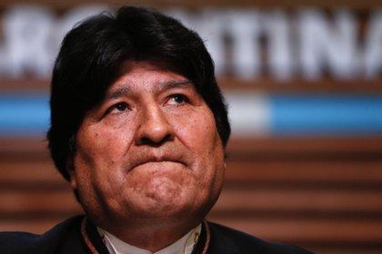 El ex presidente de Bolivia, Evo Morales. Foto: EFE/Juan Ignacio Roncoroni